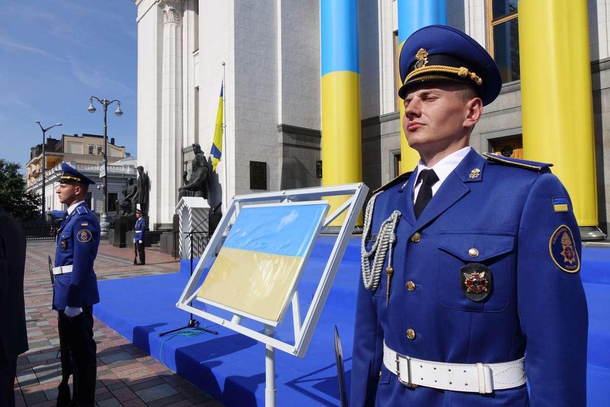 У Києві вперше представили у відкритому доступі Прапор Незалежності України