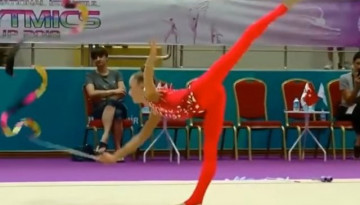 Українська гімнастка стала золотою призеркою на турнірі в Туреччині