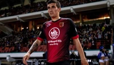 Дубль за две минуты: украинский футболист стал героем матча чемпионата Беларуси