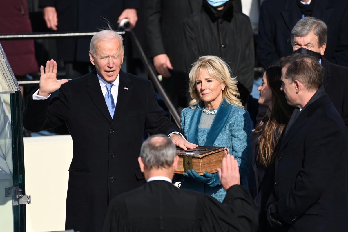 Джо Байден принял присягу президента США