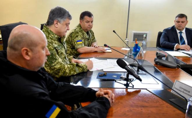 Порошенко підписав наказ про початок проведення Операції об'єднаних сил