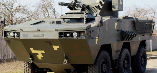 Міноборони відмовилось від нового БТРа 6х6 для морпіхів