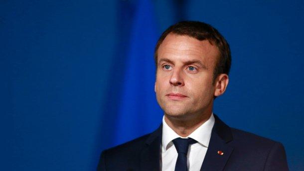 Макрон назвав умову, за якої Франція завдасть удару в Сирії