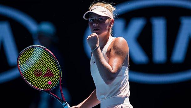 Юна тенісистка Костюк закохує своєю надпатріотичною позицією