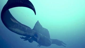 Уникальная находка подтвердила существование плававших хищных динозавров