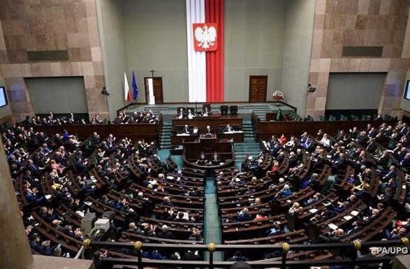 Сейм Польщі ухвалив постанову про звільнення політвязнів