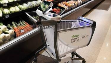 Умные тележки могут навсегда изменить методику покупок в магазинах